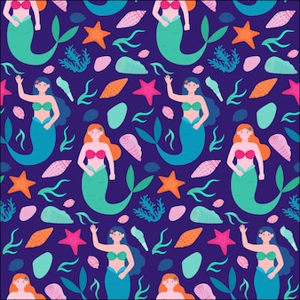 Mermaid pattern collection