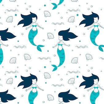 人魚模様のテーマ