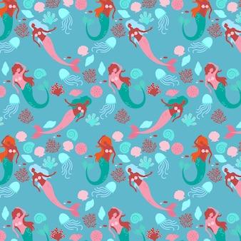 Узор русалки