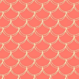 인어 규모 원활한 패턴