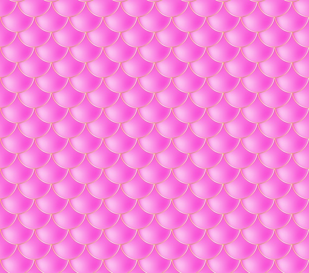 Mermaid scales. fish squama. pink seamless pattern