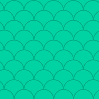 인어 꼬리 완벽 한 패턴입니다. 물고기 피부 질감. 소녀 직물, 섬유 디자인, 포장지, 수영복 또는 벽지를 위한 경작 가능한 배경. 수중 물고기 규모와 푸른 인어 꼬리 배경입니다.
