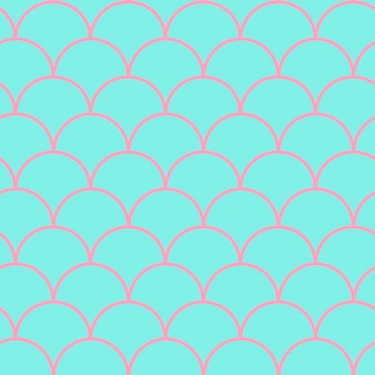 Mermaid tail seamless pattern. fish skin texture. tillable background for girl fabric, textile design, wrapping paper, swimwear or wallpaper. purple mermaid tail background with fish scale underwater.