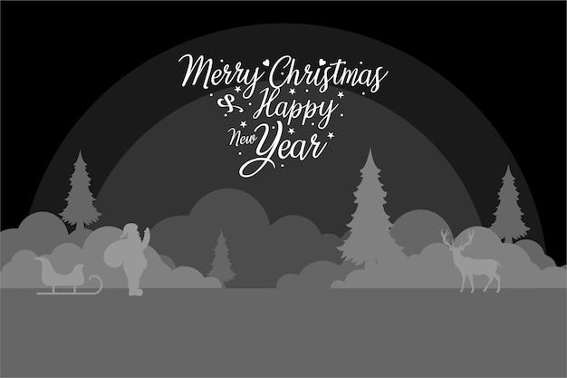 Merry chrismas template design