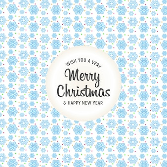 Merry christamas design with creative design vector