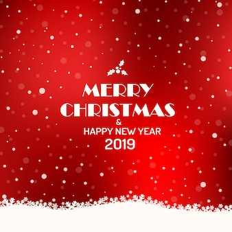Merry christmas 2019 background.