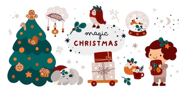 メリークリスマス、そして、あけましておめでとう!コレクションホリデーウィンターアクセサリー