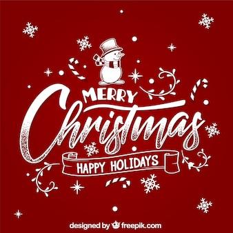 メリークリスマスと幸せな休暇