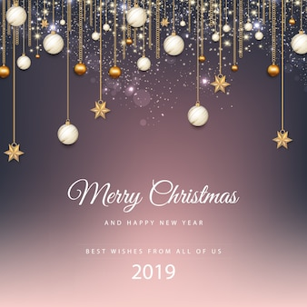 メリークリスマス、そしてハッピーニューイヤー。 2019年
