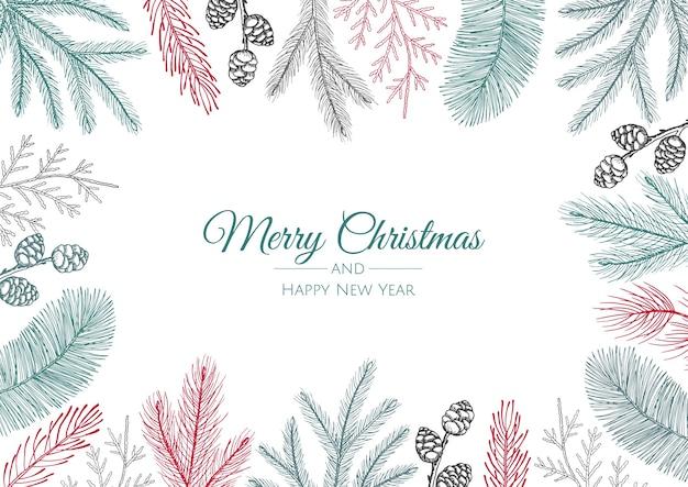 С рождеством и новым годом фон
