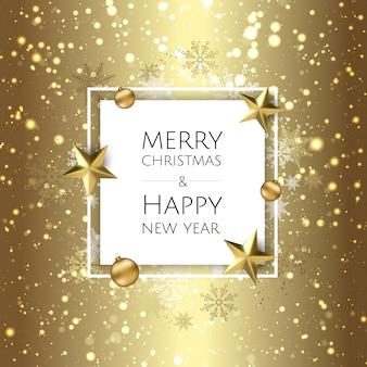 기쁜 성 탄과 새 해 복 많이 받으세요 배경