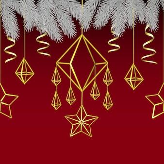 기쁜 성 탄과 새 해 복 많이 받으세요 스칸디나비아 원활한 패턴