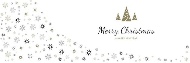 메리 크리스마스와 새 해 2022 포스터 크리스마스 휴일 기호로 최소한의 배너
