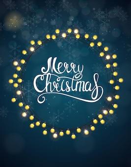 メリークリスマスと新年の背景。ベクトルイラストeps10