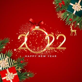 С рождеством и новым годом фон. векторные иллюстрации