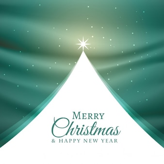 Merry christmas background in abstract style