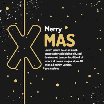 Merry christmas background holiday