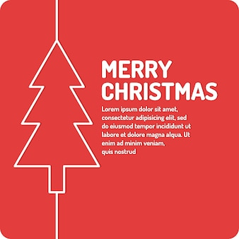 Merry christmas background holiday Premium Vector