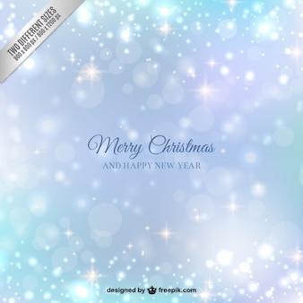 輝くスタイルでメリークリスマスの背景