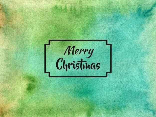 С рождеством христовым фон в стиле акварели