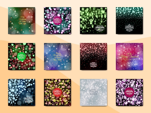 Merry christmas background, new year background, abstract background