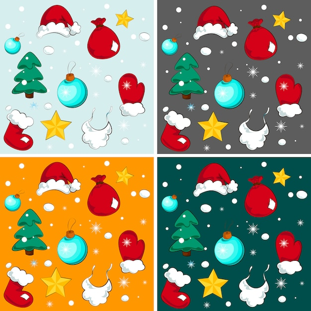 Merry christmas background. simple vector illustration
