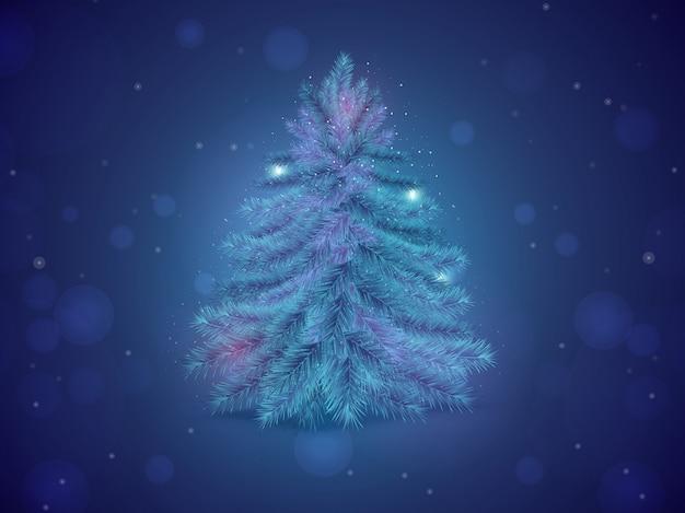 メリークリスマスの背景。
