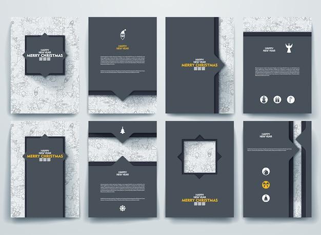 Merry christmas brochures