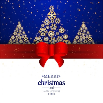 Merry christmas card decorative background