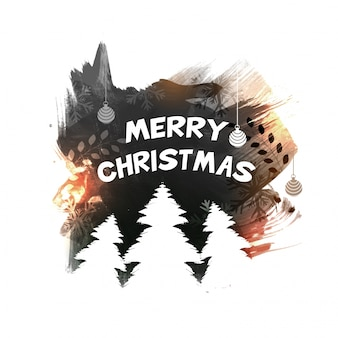 메리 크리스마스 축 하 배너 디자인