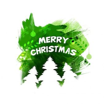 메리 크리스마스 축하 디자인