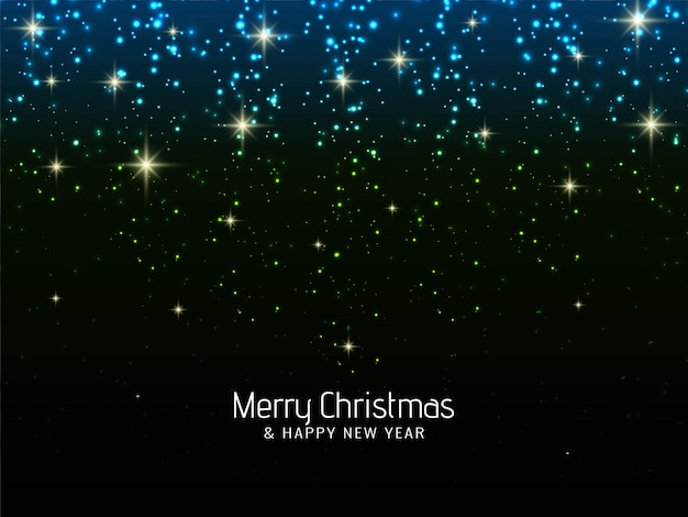 Merry christmas celebration sparkles background