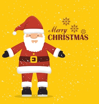 Merry christmas colorful card