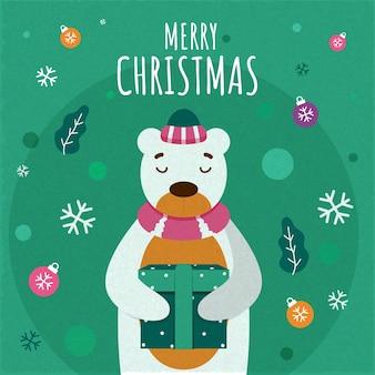 Счастливого рождества иллюстрации концепции