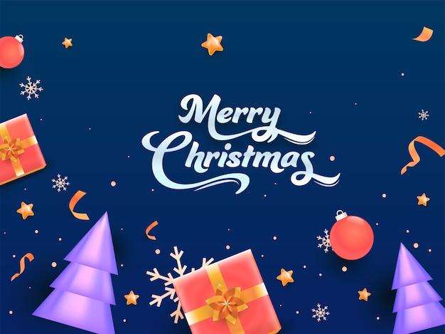 С рождеством христовым концепция
