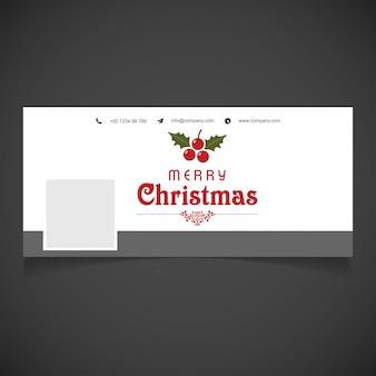 Merry christmas cover photo for groups and pages