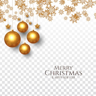 Merry christmas decorative festive background