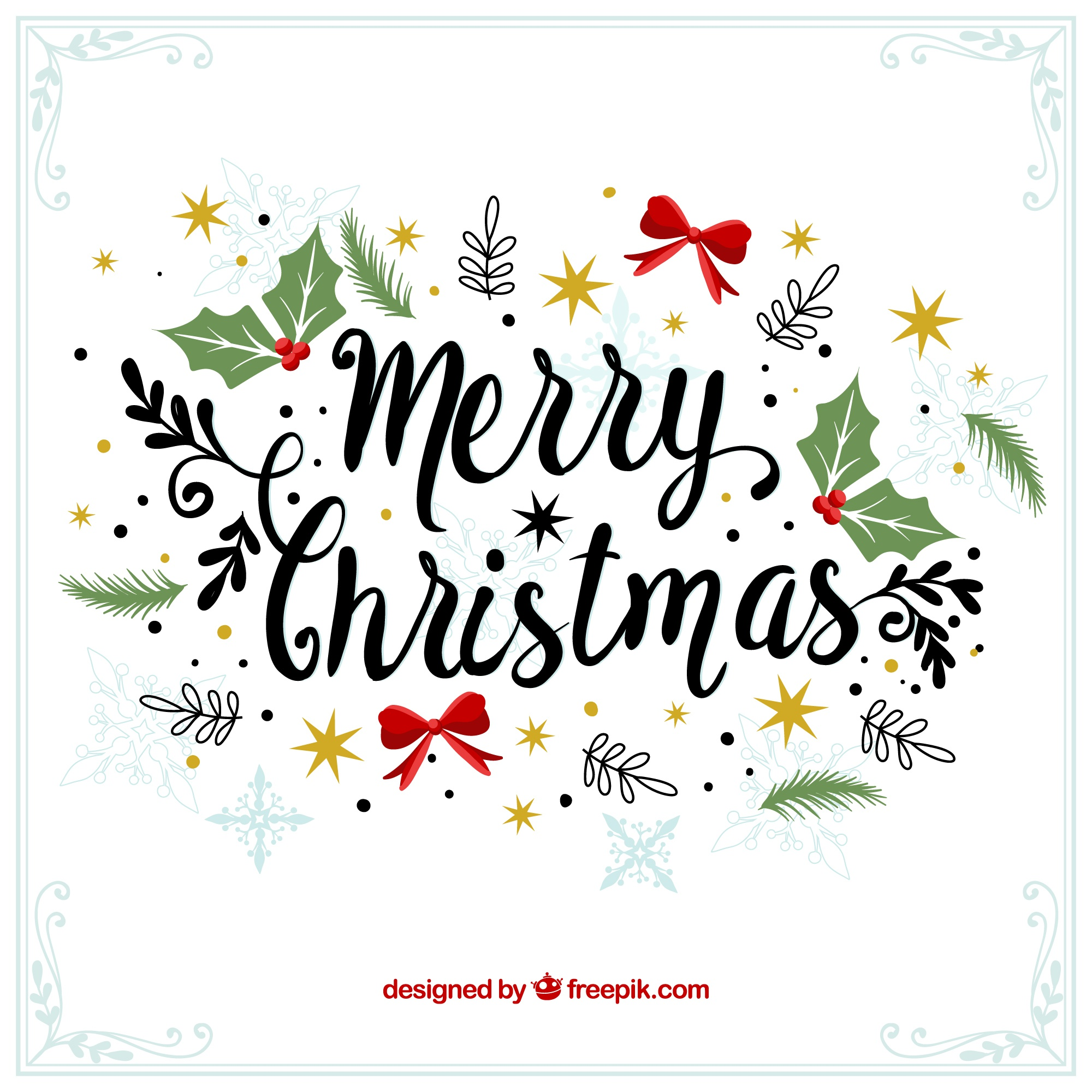 Merry christmas decorative vintage background
