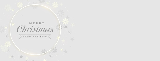Merry christmas elegant festival banner with text space