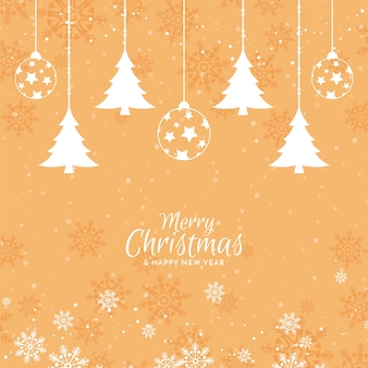 Merry christmas elegant festive background design