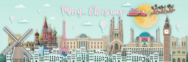 Merry christmas europe