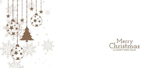 メリークリスマスフェスティバルのお祝いのデザイン