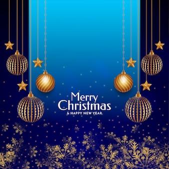 Merry christmas festival decorative background