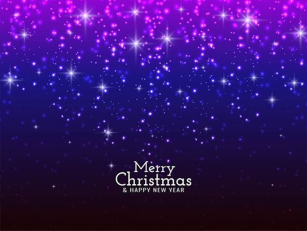 Merry christmas festival sparkling glitters background