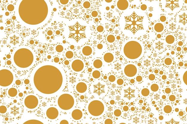 메리 크리스마스! 흰색 배경에 고립 된 눈송이와 축제 완벽 한 패턴입니다. 평면 벡터 일러스트 레이 션 eps10입니다.