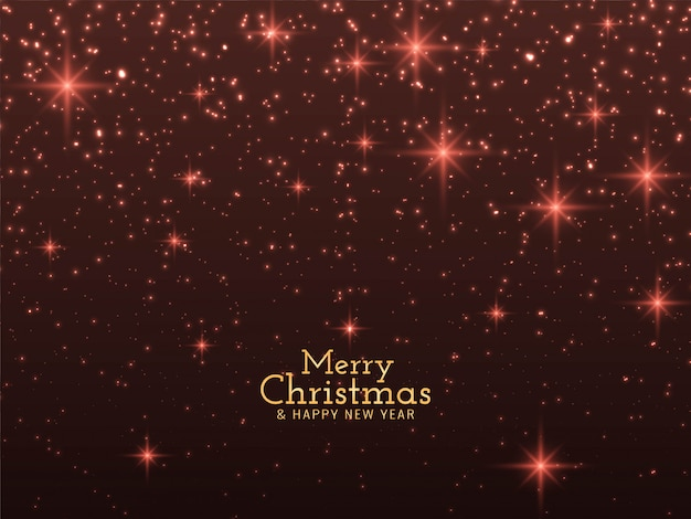 Merry christmas glitters background
