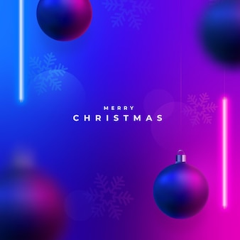С рождеством христовым светящийся фон