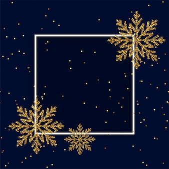 Merry christmas greeting card background with frame