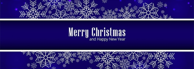 Merry christmas greeting card for banner vector
