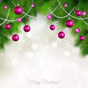 С рождеством христовым поздравительная открытка.